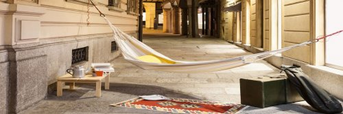 5 Steps To Planning A Staycation - The Fine Art Of Local Travel - The Wise Traveller - Hammock and bags