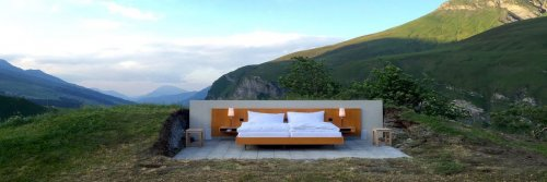 A Bed With No Stars - Introducing The Hotel Bed On A Mountain - The Wise Traveller