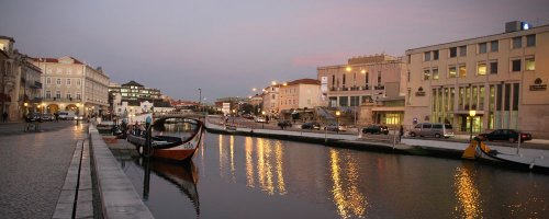 Aveiro—The Venice of Portugal - The Wise Traveller - Evening view