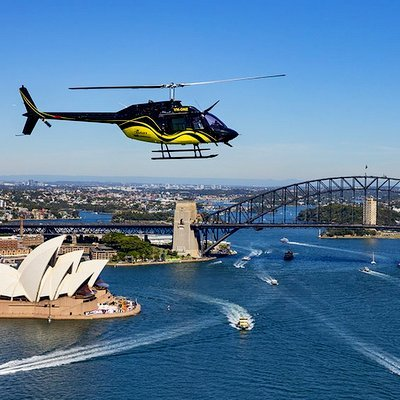 Cool Helicopter Rides Around The World