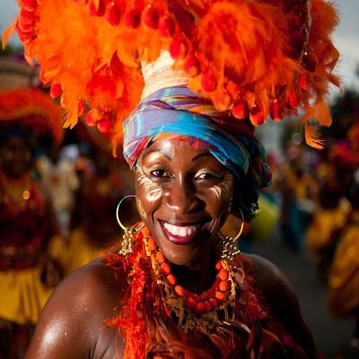 Haiti Open To The World Once More - The Wise Traveller - Woman dressed for carnival