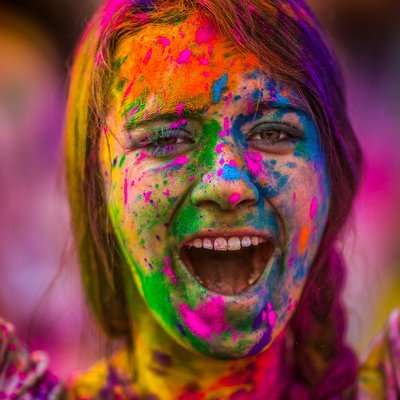 Holi, The Festival Of Colours - The Wise Traveller - Image: Thomas Hawk