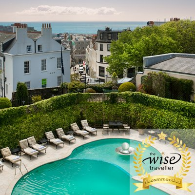 Wise Traveller Hotel Review: The Old Government House Hotel & Spa, St Peter Port, Guernsey, Channel Islands