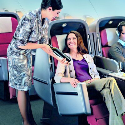 How to Get an Airline Seat Upgrade - The Wise Traveller
