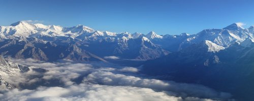 On Top of the World - Flying Mt Everest from Kathmandu - The Wise Traveller - Everest