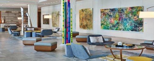 Review - Art Ovation Hotel - Sarasota - Florida - USA - Lobby