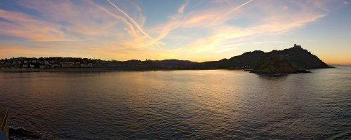 The Food Scene of San Sebastian, Spain - The Wise Traveller - San Sebastian - Sunset