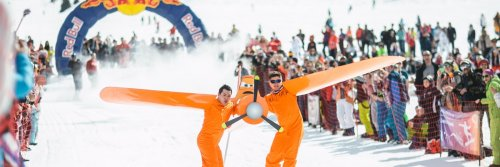 Top 10 Winter Festivals - The Best Winter Festivals Around the World - The Wise Traveller - Two competitors skating