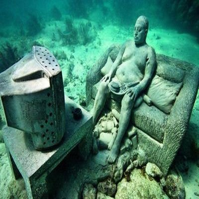 Top 5 Strange Museums - 5 Weird Museums From Around The World - The Wise Traveller - Cancun Underwater Museum