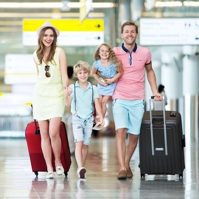 Why You Should Travel with Your Children - The Wise Traveller - Airport