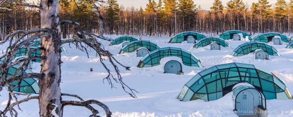 5 Escapes For The Business Traveller - 5 Absolute Escape Destinations That Truly Get You Away - The Wise Traveller - Kakslauttanen Arctic Resort, Lapland