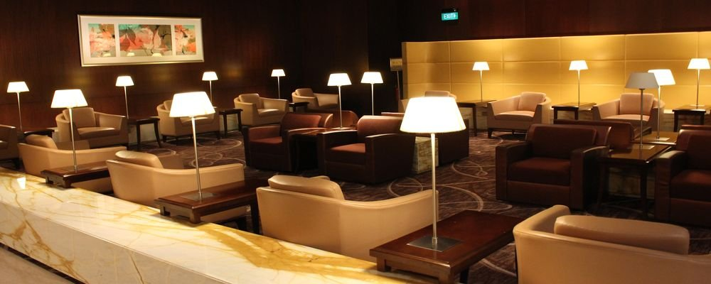 5 Great Business Class Lounges - 5 Business Lounges That Will Make You Love Airports Again - The Wise Traveller - KrisFlyer Gold Lounge, Singapore Changi Airport