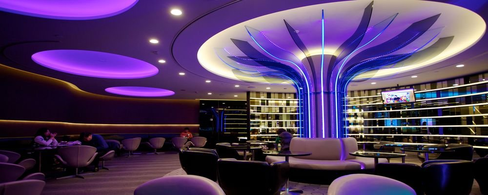 5 Great Business Class Lounges - 5 Business Lounges That Will Make You Love Airports Again - The Wise Traveller - The Infinity Lounge, Taiwan Taoyuan Int