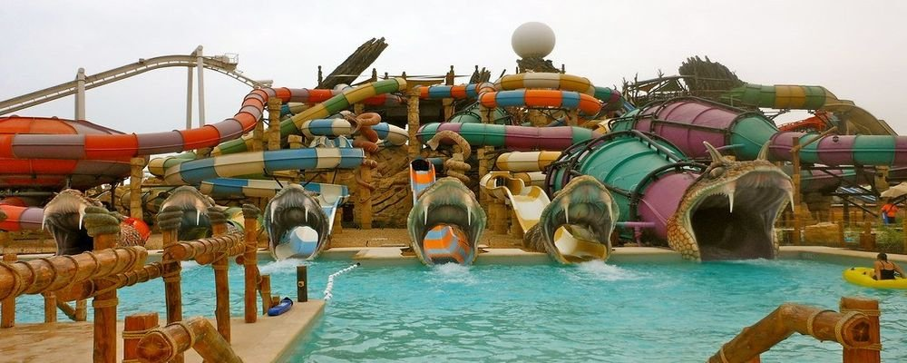 Abu Dhabi Travel Guide for First Time Travellers - The Wise Traveller - Yas Waterworld