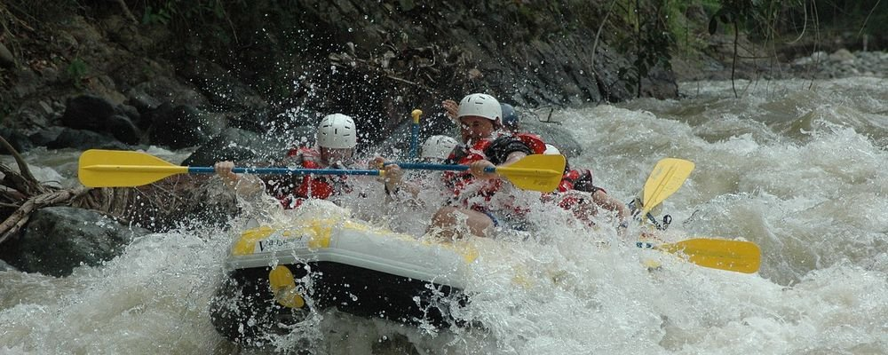 Adrenalin Junkie Destinations - The Wise Traveller - Rafting