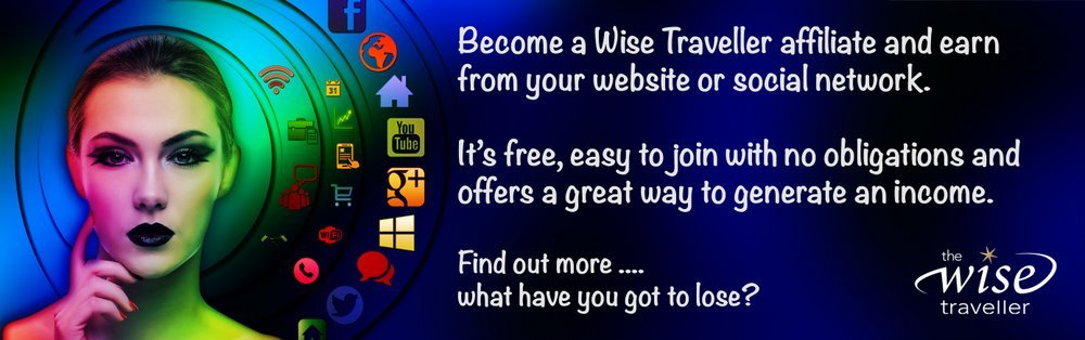 Become a Wise Traveller affiliate and start earning an income.