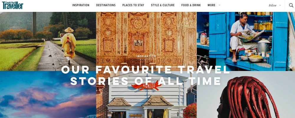 April Monthly Round Up - The Wise Traveller - Conde Nast Traveller