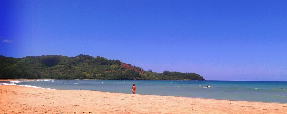 Best Beaches For Winter Surfing - The Wise Traveller - Hanalei Beach - Hawaii