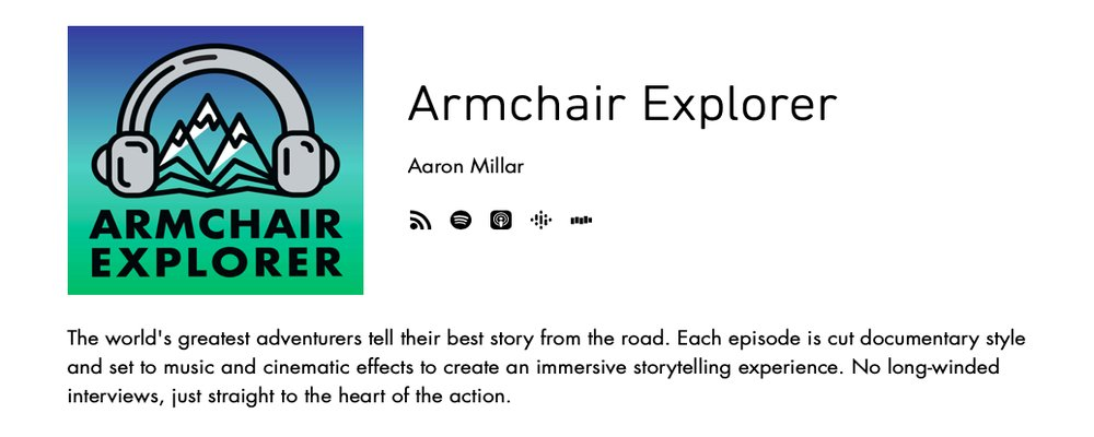 Best Podcasts for Inspiring Travel - The Wise Traveller - Armchair Explorer