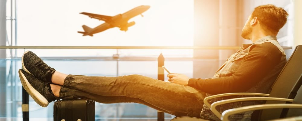 Best Travel Clothes for Long Haul Flights - The Wise Traveller - Passenger - Man