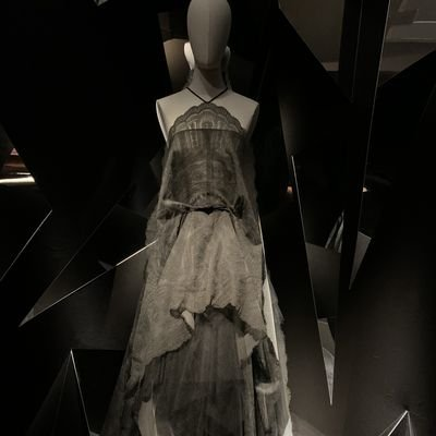 Breezing Through Brussels' Museums - The Wise Traveller - Couture lace dress by Carine Gilson at the Lace Museum - Brussels