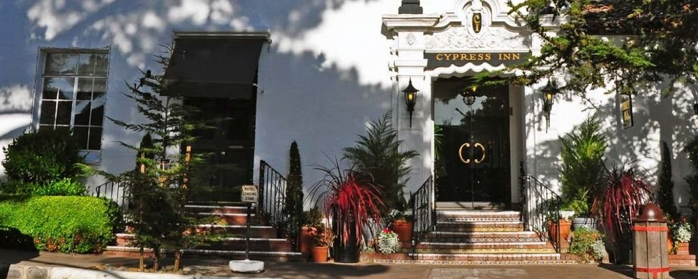 Celebrity Owned Hotels - The WIse Traveller - The Cypress Inn - California