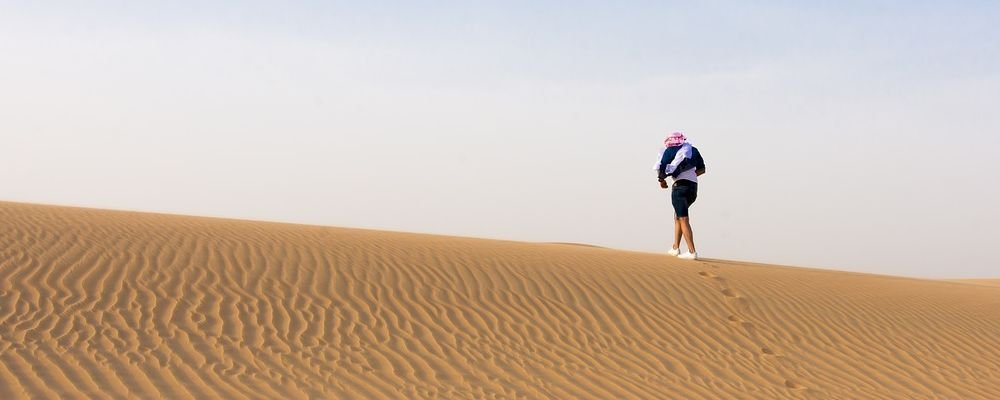 Do Your Research Before You Travel - The Wise Traveller - Desert - UAE