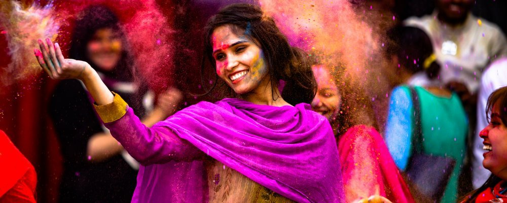 Holi, The Festival Of Colours - The Wise Traveller