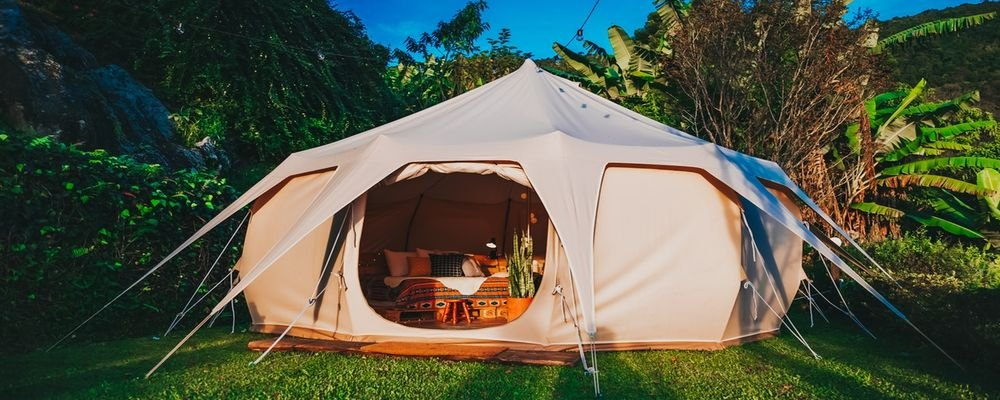 How to Camp in Your Back Yard to Feel a Thousand Miles Away - The Wise Traveller - Backyard camping