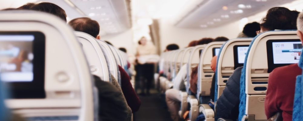 How to Make Your Travels More Sustainable in 2020 - The Wise Traveller - Airplane