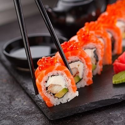 Japan National Day - The Wise Traveller - Sushi and chopsticks