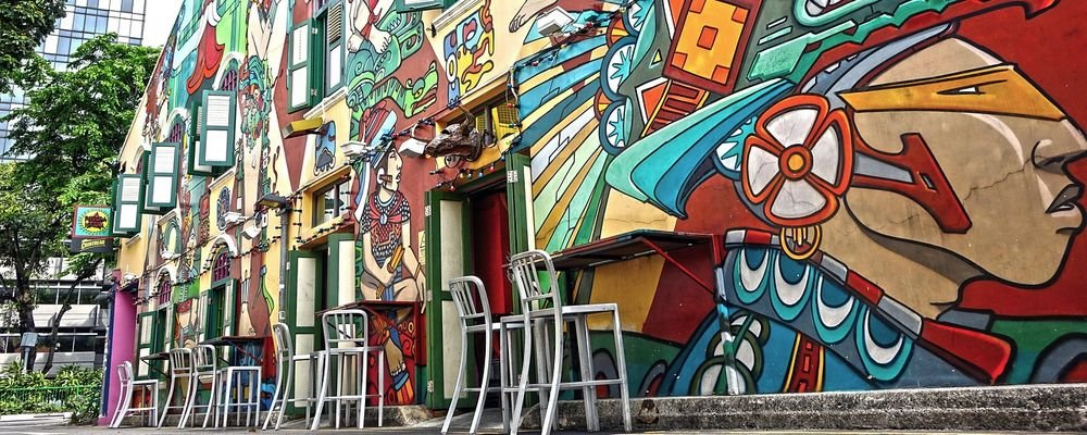 Most Amazing Places to Take Photos in Singapore - The Wise Traveller - Haji Lane