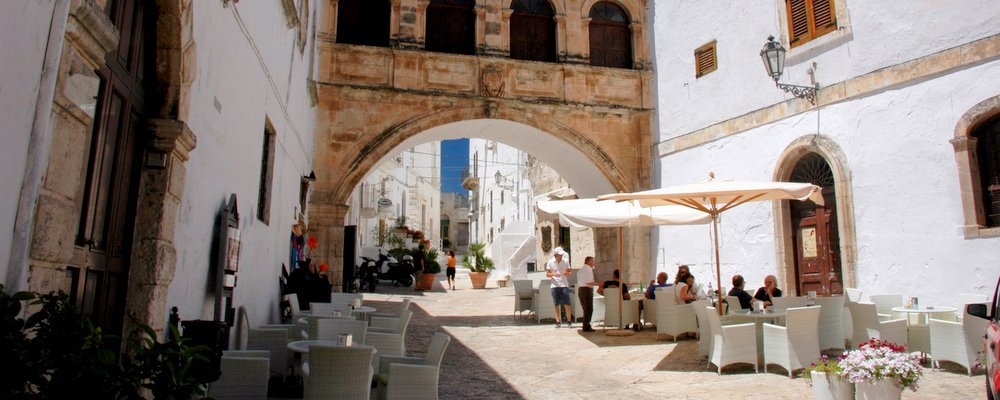 Wanderings The Streets of Ostuni - The Wise Traveller
