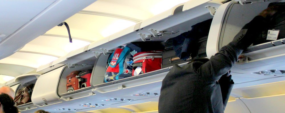 Flight Tips - Sharing Overhead Bins - The Wise Traveller