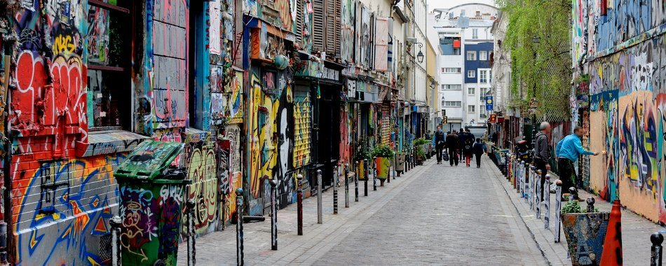 The Coolest Neighbourhoods in Europe - Belleville Paris