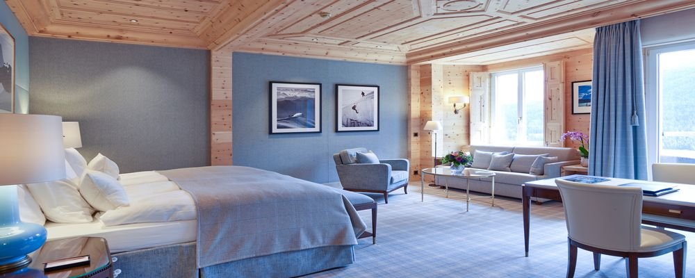 Review - Kulm Hotel - St. Moritz - Switzerland - The Wise Traveller - Junior Suite