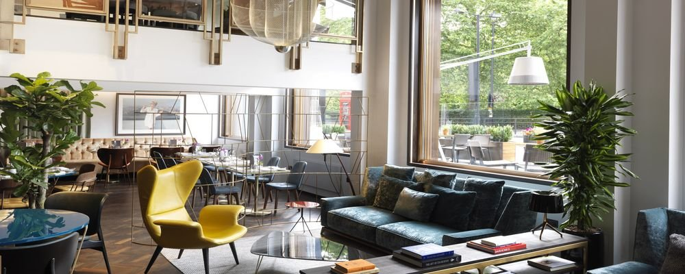 Review - The Athenaeum Hotel & Residences - London - U.K. - The Wise Traveller - Athenaeum Lobby1