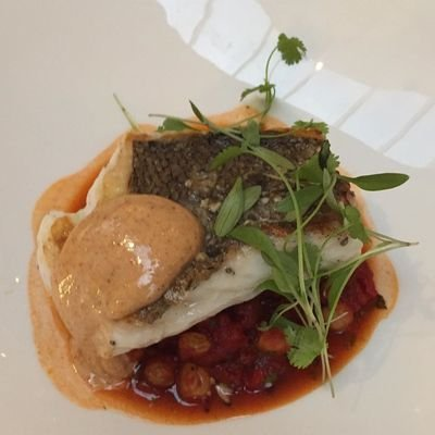 Review - The Athenaeum Hotel & Residences - London - U.K. - The Wise Traveller - Cornish hake at Galvin