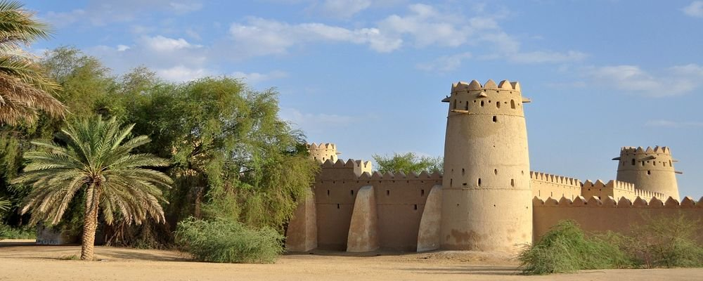 Six Top Stopover Cities of the Middle East - The Wise Traveller - Old Fort - Abu Dhabi