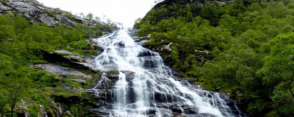 Five Lesser Known Impressive Waterfalls - The Wise Traveller - Steall Falls Scotland