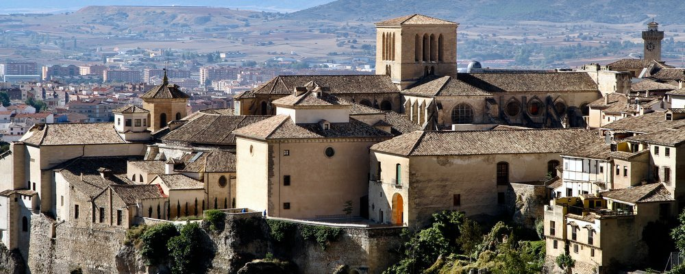The Hanging Houses of Cuenca, Spain