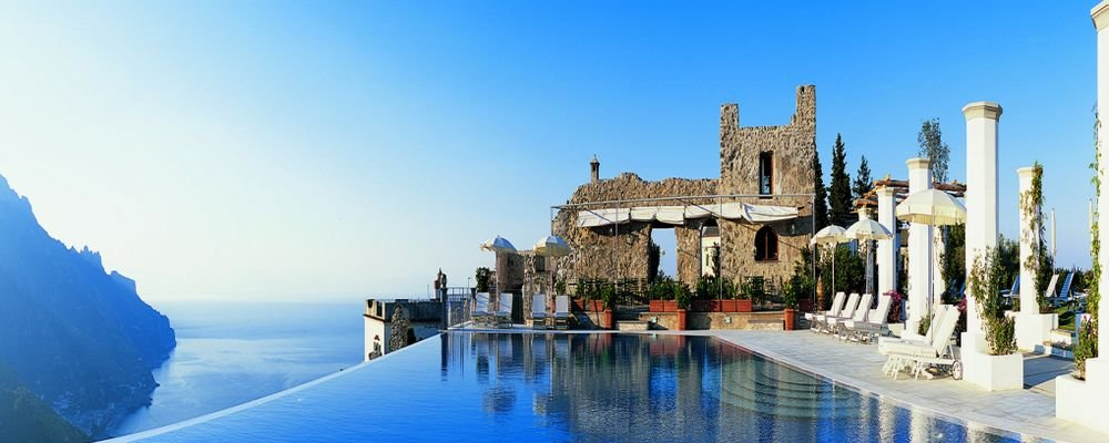 The World's 10 Best Hotel Swimming Pools - The Wise Traveller - Belmond Hotel Caruso Infinity Pool