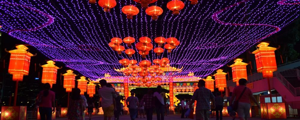 Top 3 Cities For Chinese New Year - The Most Stunning Places to Celebrate Chinese New Year - The Wise Traveller - Chinatown in Singapore - Lanterns