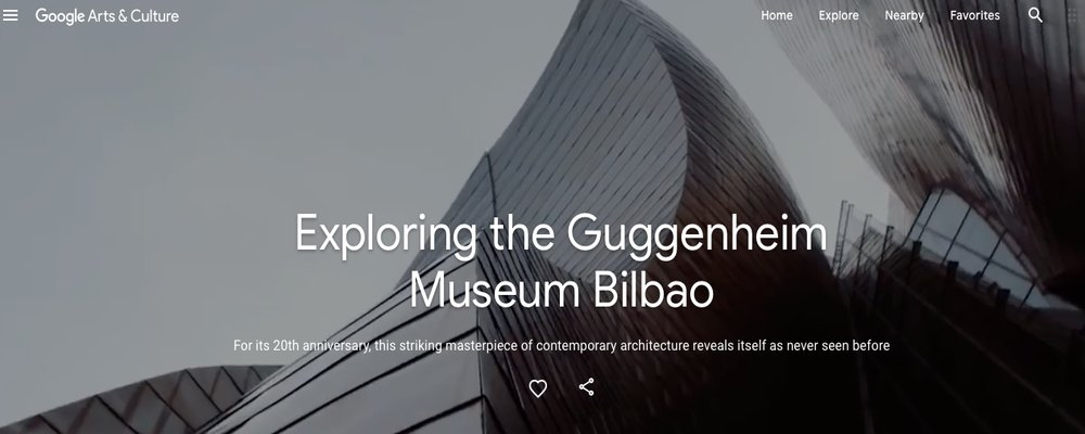 Virtual Culture Tours - The Wise Traveller - Guggenheim