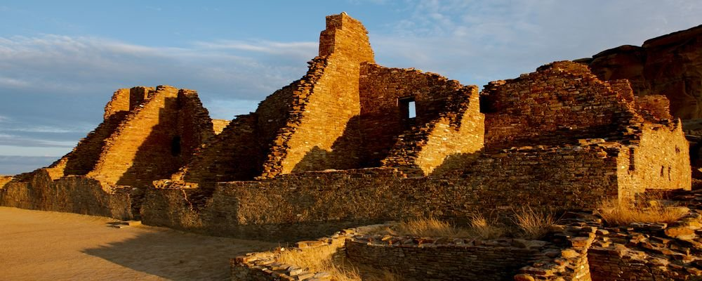 Virtual History Tours - The Wise Traveller - New Mexico's Chaco Culture National Historical Park