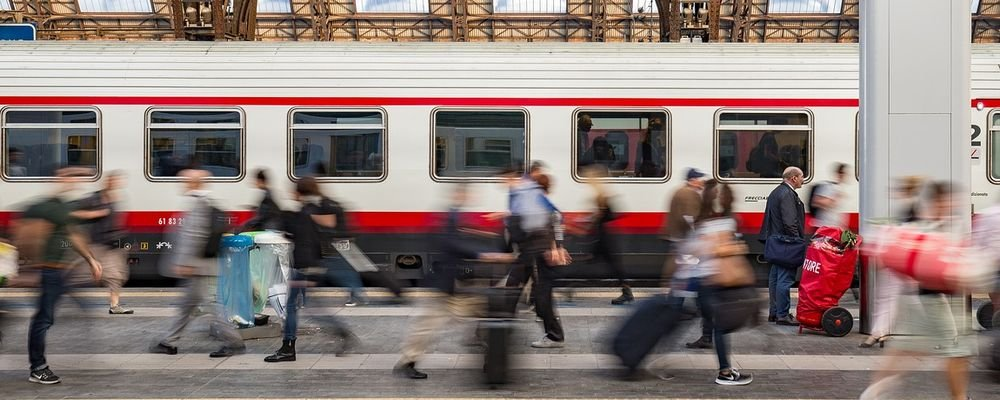 What is 'Flight Shaming'? - The Wise Traveller - Train Station - Milan