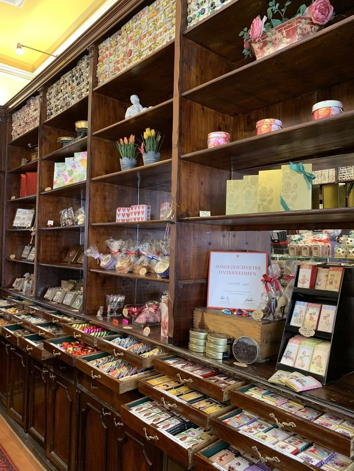 Where to Enjoy Vienna's Cafés, Chocolate and Culture - The Wise Traveller - Leschanz chocolate shop