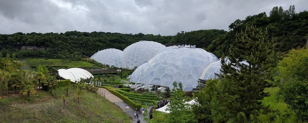 Where to Visit in Cornwall - England - The Wise Traveller - Eden Project