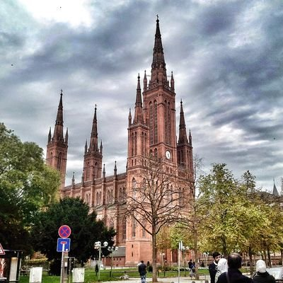 Wiesbaden—Wine, Architecture, Hot Springs and White Asparagus - The Wise Traveller Church